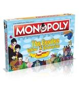 Beatles Yellow Submarine MONOPOLY Board Game RARE OOP Sgt. Pepper's Pepp... - $54.99