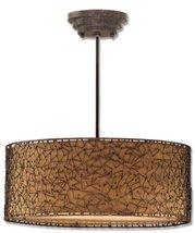 Uttermost 21153 Brandon 3 -Light Pendant, Rustico Finish - $435.60
