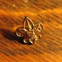 BSA Vintage Small Lapel Pin - Boy Scouts Of America Eagle Fleur De Lis U... - $19.79