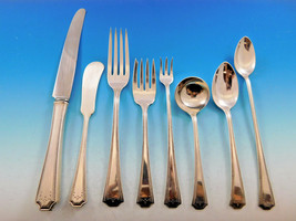 Adam by National Sterling Silver Flatware Set for 12 Service 102 Pc Dinner - $4,895.00