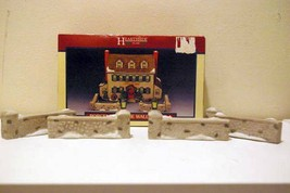 Lemax 1991 Hearthside Village Set of 4 Stone Wall Pieces - $8.31