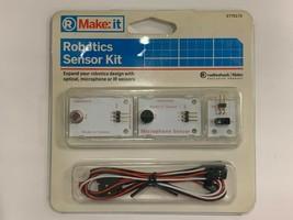 New Old Stock. Make: it Robotics Sensor Kit. Radioshack 277-0172. - $18.99