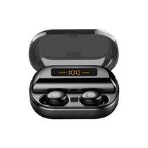 Mini Portable Wireless bluetooth 5.0 Earphone LED Display Stereo 4000mAh... - $65.19