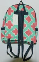 NGIL OTP2828NY Quilted Geometric Pattern Microfiber Backpack image 6
