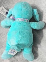 GANZ HE9835 Polyester Fiber 11 Inch Blue Tie Dye Lambie With A Satin Bow image 5