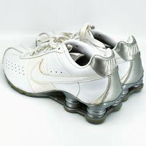 Nike Shox Classic II Women's White & Silver Running Sneaker Size 10 343907-111 image 3