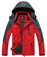 GEMYSE Men's Mountain Waterproof Ski Snow Jacket Winter Windproof Rain J... - $78.88