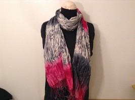 New fashion scarf shibori water color style in choice of color scheme image 2