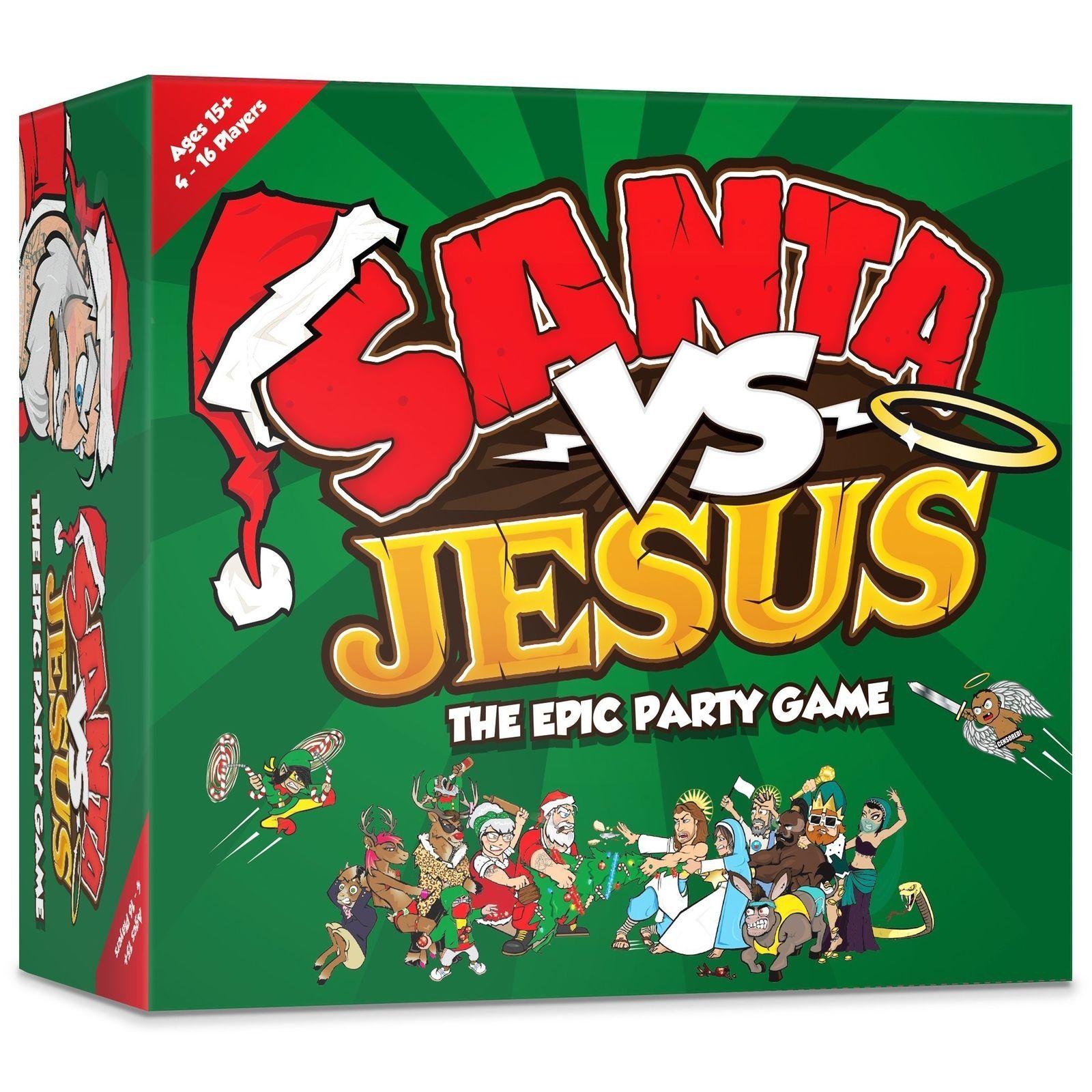 Santa VS Jesus The Epic Party Board Game [New]