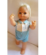 Tiny Chatty Brother Mattel 1962 Vintage Doll • Toy • Does Not Work • pre... - $20.75