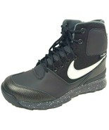 Nike Stasis ACG GS Boys Shoes 685610 001/003 Black Leather Boots Hiking ... - $62.99