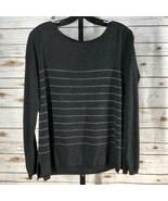 Women's Joie Sweater with Metallic Stripe sz S - $47.34