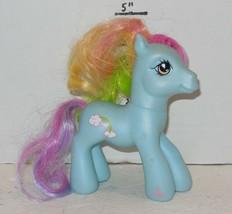 2007 My Little Pony Rainbow Dash G3 MLP Hasbro Blue - $9.50