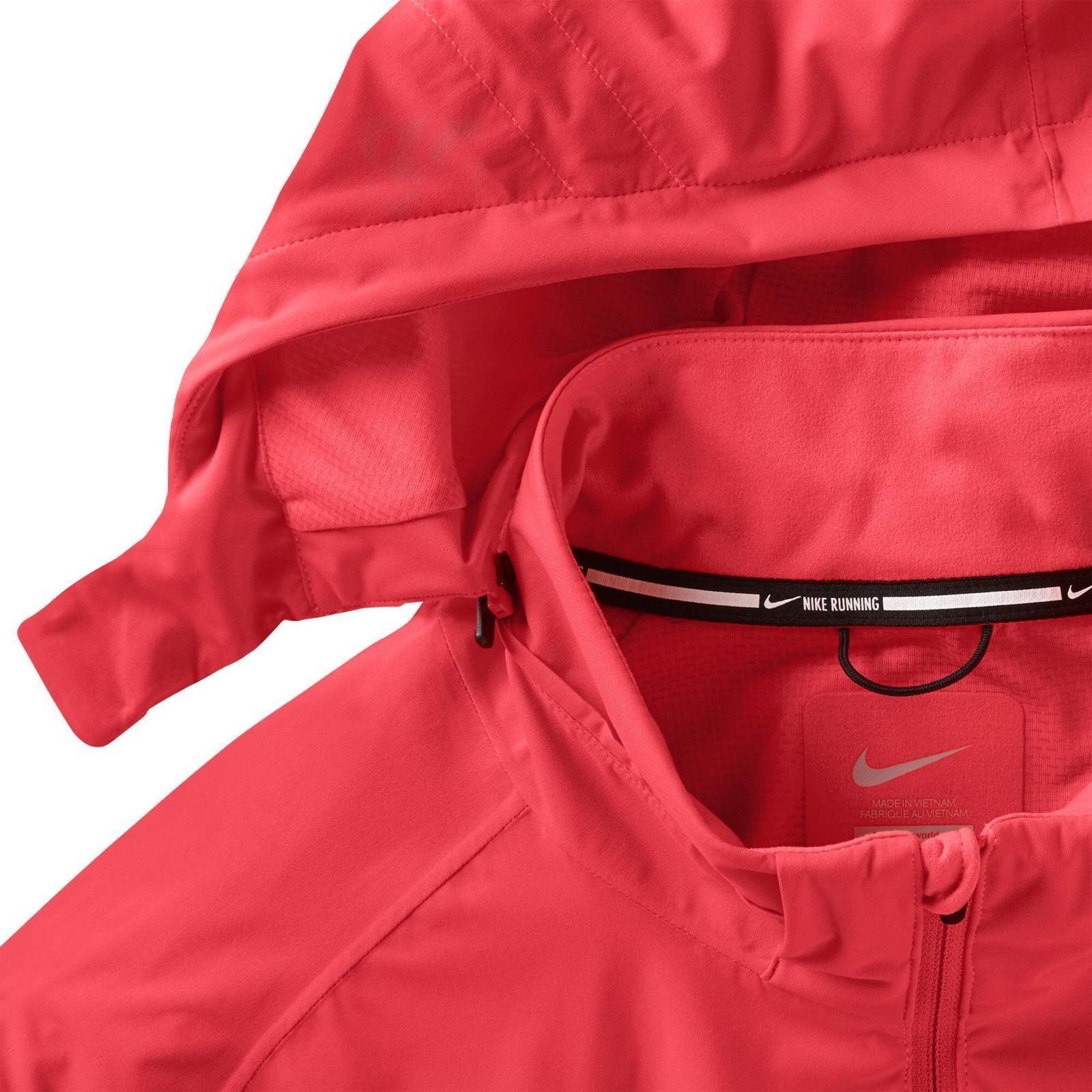 Nike 2015 Shield Light Running Jacket Men's SZ S SM 642360 671 $200 MSRP Crimson