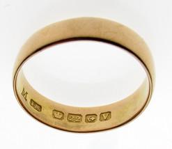 Vintage 40's 22 Carat Gold Wedding Ring 5 mm Width Band 4.4 grams - $330.30