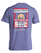 Puppie Love Rescue Dog Adult Unisex Short Sleeve Cotton Tee,Smooch A Poo... - $19.99