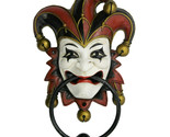 Pacific Giftware Jester Door Knocker Halloween Decor Wall Sculpture Figurine 8