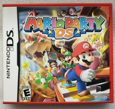 Mario Party Nintendo DS Red Case Cleaned and Tested Complete - $15.83