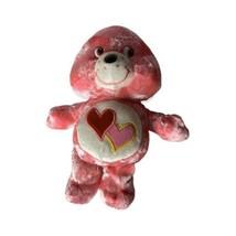 "Care Bears  ""Love-A-Lot""  Soft Plush Toy Stuffed Animal Pink Care Bear - $12.19"