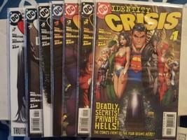 identity crisis #1-7 (complete mini-series) - $28.00