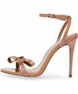 Steve Madden Bradshaw Dark Blush Women's Ankle Strap Dress Sandals - $84.00