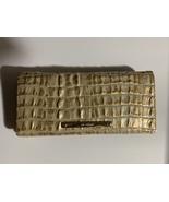 Brahmin ady Gold La Scala Wallet NWT - $89.99