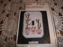 Crafter's Pride Cross Stitch Kit 1076~Cactus - $10.00