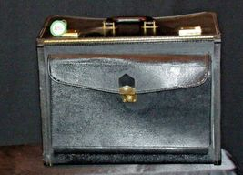 Large Briefcase AA19-2068 Vintage image 6