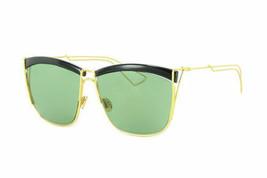 New Christian Dior So Electric MY2DJ 58 Gold Black Women's Sunglasses - $98.99