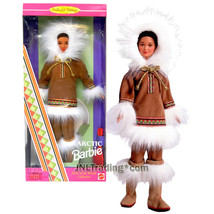 Year 1996 Collector Edition Dolls of the World 12 Inch Tall ARCTIC Barbi... - $69.99