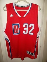 NWT L A Clippers Blake Griffin 2X Large Adidas Red 2014-15 Swingman Road Jersey - $24.95