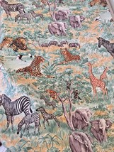OUT OF AFRICA - ANIMAL PRINT FABRIC BY THE KESSLERS FOR CONCORD FABRICS ... - $4.25