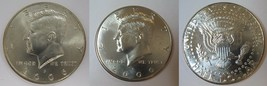 2006 P and D  BU Kennedy Half Dollar from US Mint Roll CP2434 - $4.75