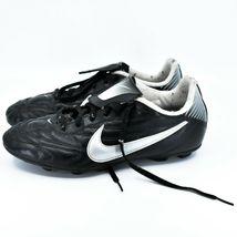 Nike Boy's Youth Kids Phantom Black & Gray Soccer Cleats Size 6Y image 3