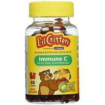 L'il Critters Gummies Immune C Plus Zinc & Echinacea 60 ea (Pack of 5) - $34.54