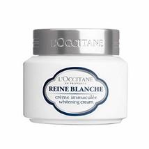 L'Occitane Reine Blanche Brightening Face Cream To Hydrate Skin To Help ... - $86.52