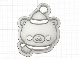 Printed Christmas Polar Bear Cookie Cutter - $8.91