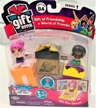 Gift Ems Series 1 Dolls + Boxes 3 Pack New York City & Nairobi by Jakks - $14.84