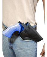"Barsony Cross Draw OWB Gun Holster 22 38 357 41 44 Smith & Wesson 4-5"" R... - $25.99"