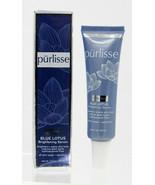 Purlisse Blue Lotus Brightening Serum - 1.0 oz - Full Size - New In Box - $18.66