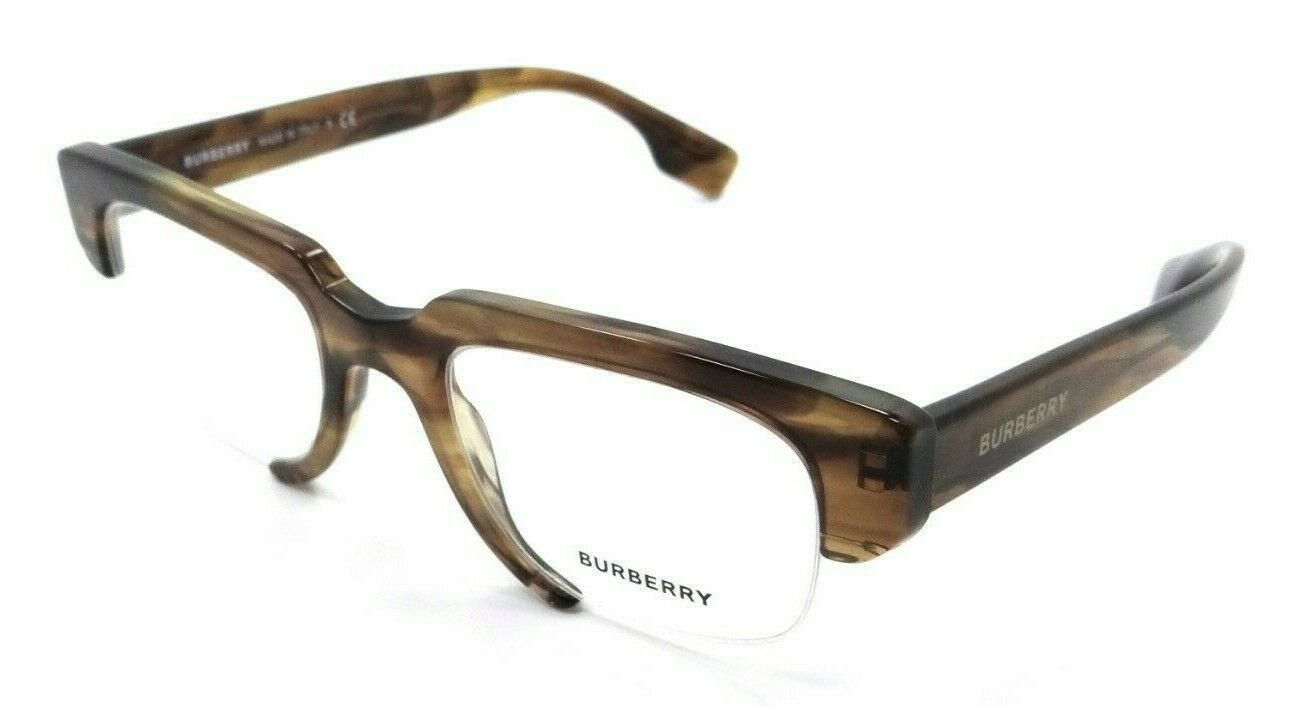 Primary image for Burberry Rx Eyeglasses Frames BE 2314 3837 49-21-145 Striped Brown Made in Italy