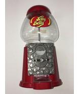 Jelly Belly Bean Machine Candy Dispenser Bank Die Cast Metal w/Glass Globe - $20.57