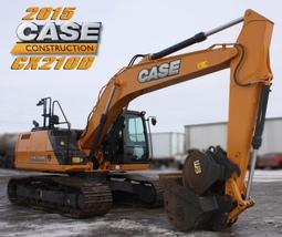 2015 CASE CX210D For Sale in Regina, Saskatchewan S4N 5W4 image 2