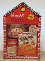 Rare Vintage 1998 Campbells Soup School House Box with Soup Mug NIB - $12.55