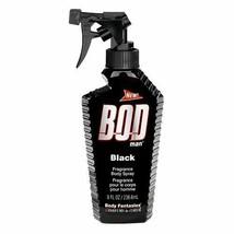 Bod Man Black by Parfums De Coeur Body Spray 8 oz Men Body Splash - $16.31