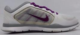 Nike Flex 4 Trainer Women's Training Shoes Sz US 8 M (B) EU 39 White 643083-100