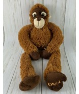 "FAO Schwarz 20"" Orangutan Plush Tug-A-Lug ToysRUs  Pull Arms Legs Stuffed Animal - $10.88"