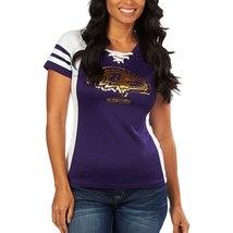 Baltimore Ravens Purple Draft Me VII Womens Jersey Top - Medium - $54.45