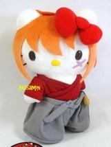 Hello Kitty x Rurouni Kenshin Plush Doll Kenshin 2014 Sanrio Japan New F/S - $50.95