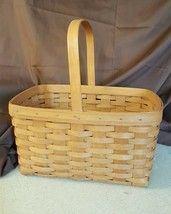 Longaberger 1990 LARGE MARKET Basket  - $39.95